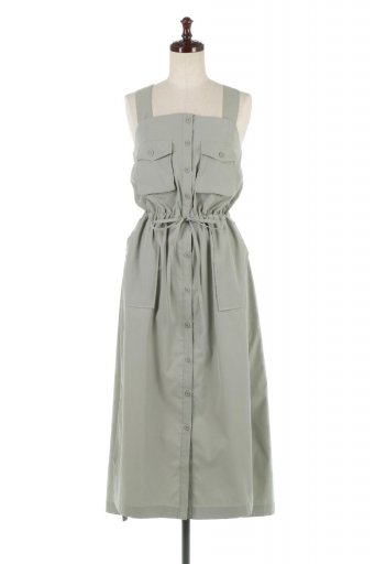 2Way Safari Bare Dress 2Way・サファリベアワンピース / 大人カジュアルに最適な海外ファッションが得意な福島市のセレクトショップbloom