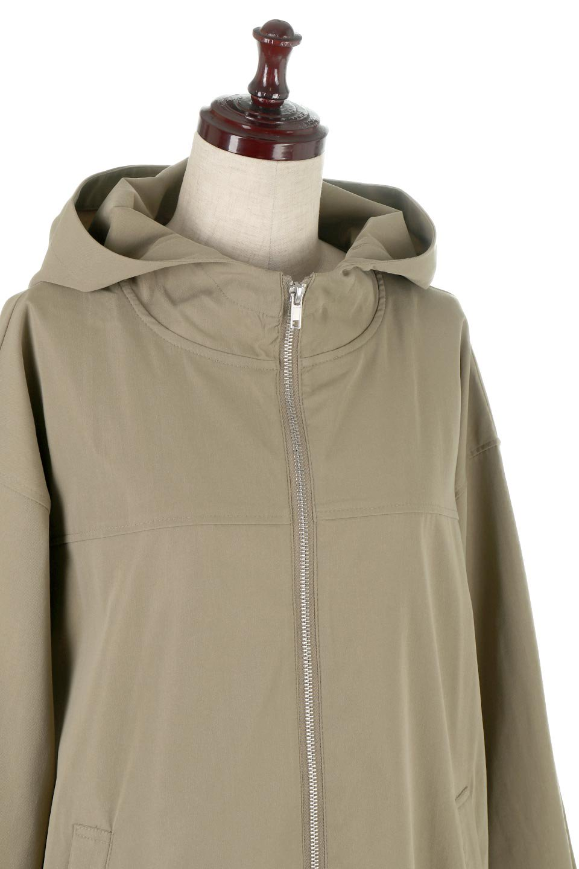 BackPleatedMountainParkaバックプリーツ・マウンテンパーカ大人カジュアルに最適な海外ファッションのothers(その他インポートアイテム)のアウターやジャケット。人気のバックプリーツを施したショート丈のマウンテンパーカ。メンズライクなアイテムをプリーツで女性らしくアレンジしたデザインです。/main-10