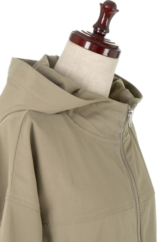 BackPleatedMountainParkaバックプリーツ・マウンテンパーカ大人カジュアルに最適な海外ファッションのothers(その他インポートアイテム)のアウターやジャケット。人気のバックプリーツを施したショート丈のマウンテンパーカ。メンズライクなアイテムをプリーツで女性らしくアレンジしたデザインです。/main-11