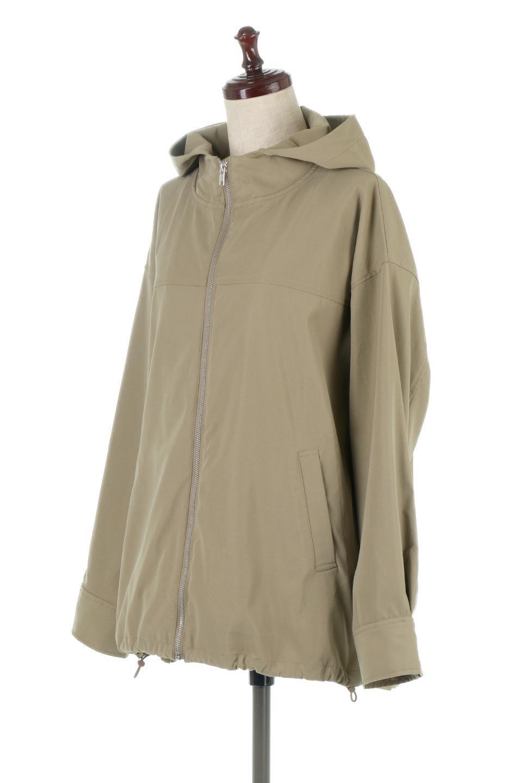 BackPleatedMountainParkaバックプリーツ・マウンテンパーカ大人カジュアルに最適な海外ファッションのothers(その他インポートアイテム)のアウターやジャケット。人気のバックプリーツを施したショート丈のマウンテンパーカ。メンズライクなアイテムをプリーツで女性らしくアレンジしたデザインです。/main-6