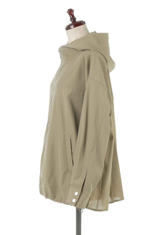 BackPleatedMountainParkaバックプリーツ・マウンテンパーカ大人カジュアルに最適な海外ファッションのothers(その他インポートアイテム)のアウターやジャケット。人気のバックプリーツを施したショート丈のマウンテンパーカ。メンズライクなアイテムをプリーツで女性らしくアレンジしたデザインです。/main-7
