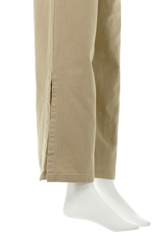 Lace-UpWideLegSlitPantsレースアップ・スリット入りワイドパンツ大人カジュアルに最適な海外ファッションのothers(その他インポートアイテム)のボトムやパンツ。バックのレースアップが特徴のワイドパンツ。ソフトなコットン生地で履き心地も抜群。/main-14