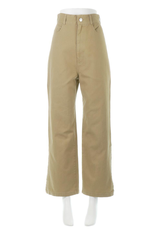 Lace-UpWideLegSlitPantsレースアップ・スリット入りワイドパンツ大人カジュアルに最適な海外ファッションのothers(その他インポートアイテム)のボトムやパンツ。バックのレースアップが特徴のワイドパンツ。ソフトなコットン生地で履き心地も抜群。/main-5