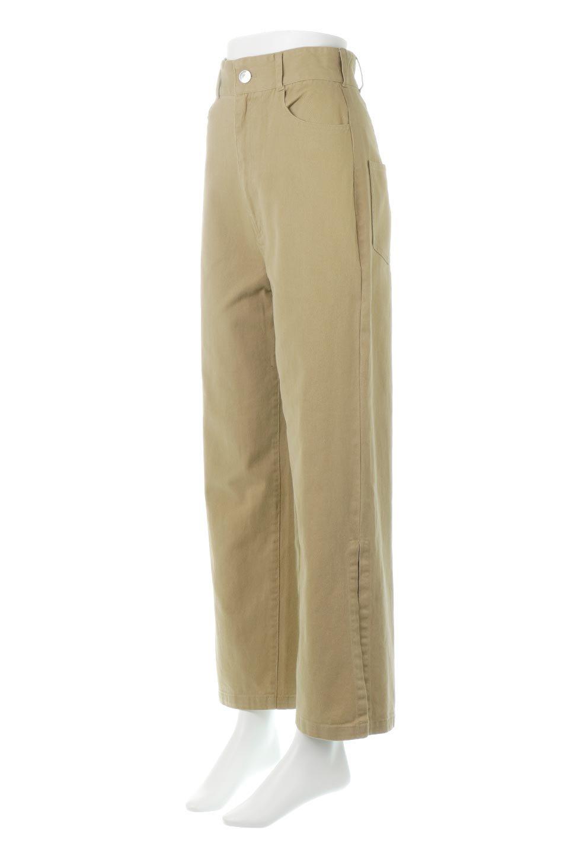 Lace-UpWideLegSlitPantsレースアップ・スリット入りワイドパンツ大人カジュアルに最適な海外ファッションのothers(その他インポートアイテム)のボトムやパンツ。バックのレースアップが特徴のワイドパンツ。ソフトなコットン生地で履き心地も抜群。/main-6