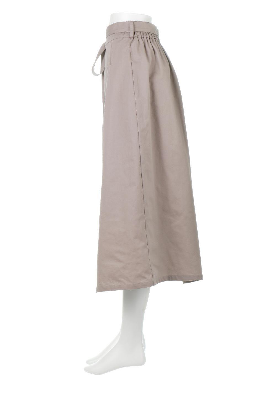 TieWaistBicolorPanelSkirtバイカラー・切替ラップ風スカート大人カジュアルに最適な海外ファッションのothers(その他インポートアイテム)のボトムやスカート。2種類の生地を使用したバイカラーのロングスカート。硬めの生地とソフトな生地を組み合わせたアシメデザイン。/main-12