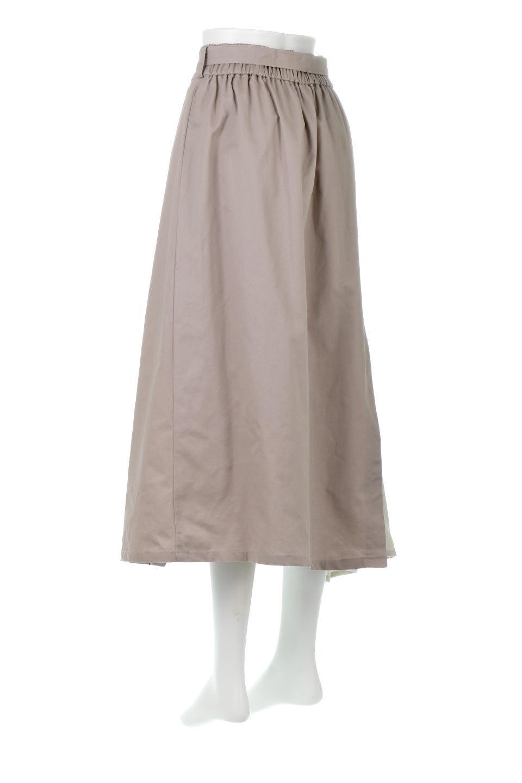 TieWaistBicolorPanelSkirtバイカラー・切替ラップ風スカート大人カジュアルに最適な海外ファッションのothers(その他インポートアイテム)のボトムやスカート。2種類の生地を使用したバイカラーのロングスカート。硬めの生地とソフトな生地を組み合わせたアシメデザイン。/main-13