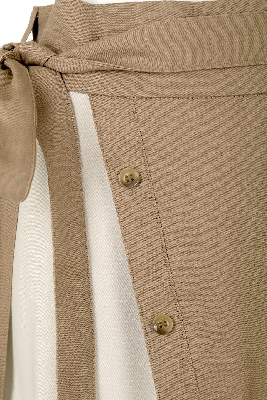 TieWaistBicolorPanelSkirtバイカラー・切替ラップ風スカート大人カジュアルに最適な海外ファッションのothers(その他インポートアイテム)のボトムやスカート。2種類の生地を使用したバイカラーのロングスカート。硬めの生地とソフトな生地を組み合わせたアシメデザイン。/main-20