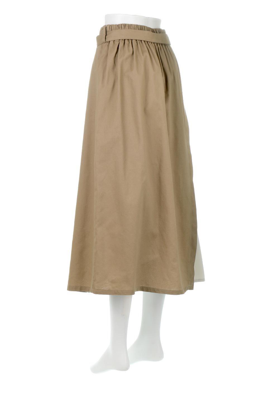 TieWaistBicolorPanelSkirtバイカラー・切替ラップ風スカート大人カジュアルに最適な海外ファッションのothers(その他インポートアイテム)のボトムやスカート。2種類の生地を使用したバイカラーのロングスカート。硬めの生地とソフトな生地を組み合わせたアシメデザイン。/main-3