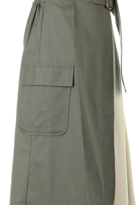 SidePocketBicolorPanelSkirtサイドポケット・切替ラップ風スカート大人カジュアルに最適な海外ファッションのothers(その他インポートアイテム)のボトムやスカート。2種類の生地を使用したバイカラーのロングスカート。硬めの生地とソフトな生地を組み合わせたアシメデザイン。/main-10