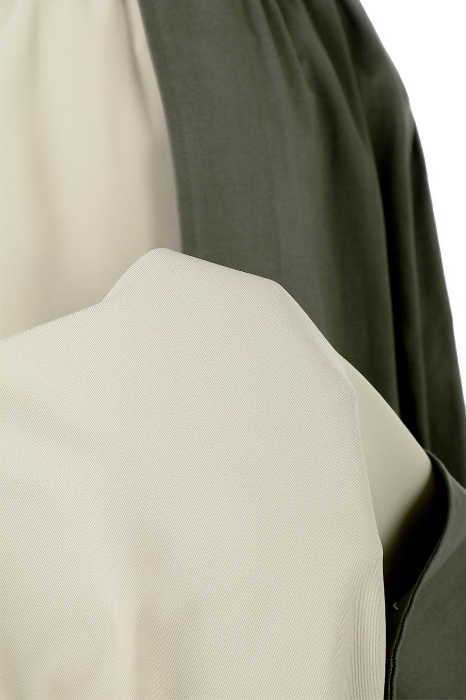 SidePocketBicolorPanelSkirtサイドポケット・切替ラップ風スカート大人カジュアルに最適な海外ファッションのothers(その他インポートアイテム)のボトムやスカート。2種類の生地を使用したバイカラーのロングスカート。硬めの生地とソフトな生地を組み合わせたアシメデザイン。/main-16
