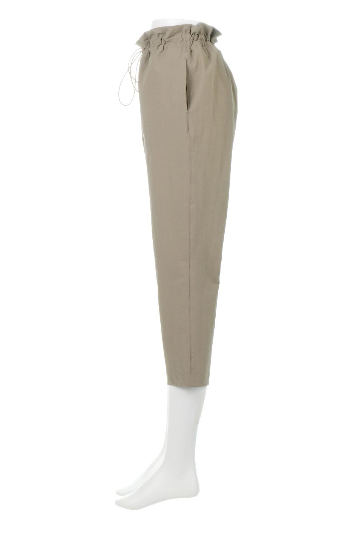 CroppedEasyPantsコットン・ナイロン・イージーパンツ大人カジュアルに最適な海外ファッションのothers(その他インポートアイテム)のボトムやパンツ。シンプルで幅広いコーデが楽しめるイージーパンツ。ナイロン混のシャリ感と張りのある素材で、キレイ目はもちろん、ストリート風、アウトドア風などのコーディネートが可能です。/main-12