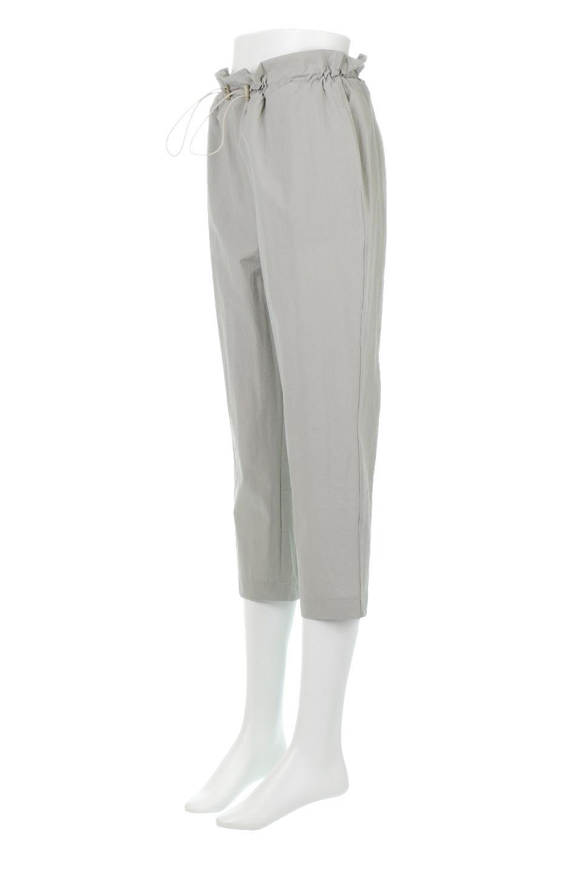 CroppedEasyPantsコットン・ナイロン・イージーパンツ大人カジュアルに最適な海外ファッションのothers(その他インポートアイテム)のボトムやパンツ。シンプルで幅広いコーデが楽しめるイージーパンツ。ナイロン混のシャリ感と張りのある素材で、キレイ目はもちろん、ストリート風、アウトドア風などのコーディネートが可能です。/main-6