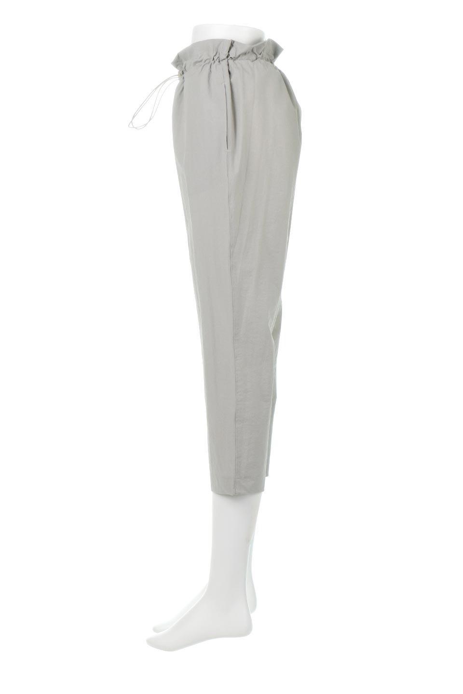 CroppedEasyPantsコットン・ナイロン・イージーパンツ大人カジュアルに最適な海外ファッションのothers(その他インポートアイテム)のボトムやパンツ。シンプルで幅広いコーデが楽しめるイージーパンツ。ナイロン混のシャリ感と張りのある素材で、キレイ目はもちろん、ストリート風、アウトドア風などのコーディネートが可能です。/main-7