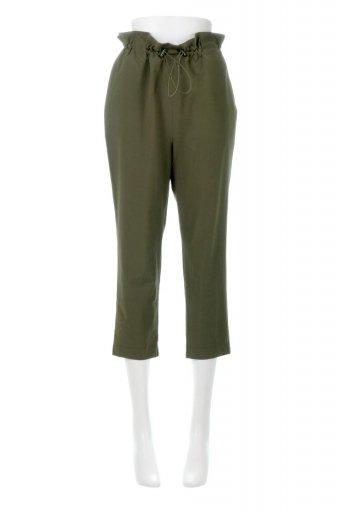 海外ファッションや大人カジュアルに最適なインポートセレクトアイテムのCropped Easy Pants コットン・ナイロン・イージーパンツ