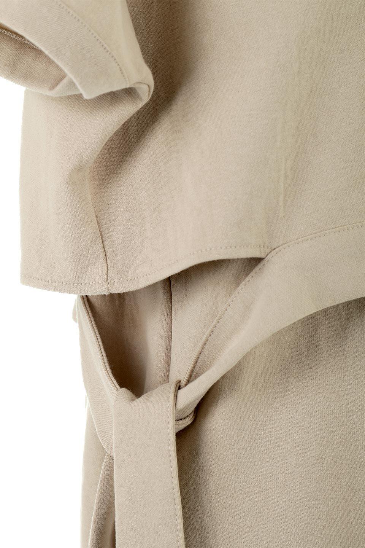 SideRibbonFauxLayeredSwatDressサイドリボン・レイヤードワンピース大人カジュアルに最適な海外ファッションのothers(その他インポートアイテム)のワンピースやマキシワンピース。トップスを重ねて着ているようなデザインのレイヤード(重ね着)風ワンピース。程よい厚みのあるカットソー素材で、からだのあたりが出にくく1枚で着こなしが完成するのもうれしいポイント。/main-15