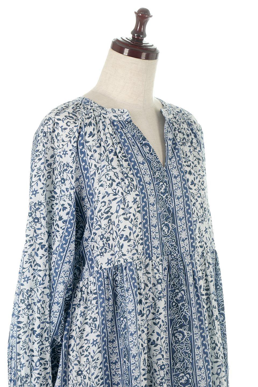 FloralPrintedPanelDress小花柄・パネルワンピース大人カジュアルに最適な海外ファッションのothers(その他インポートアイテム)のワンピースやマキシワンピース。オリエンタルな雰囲気のパネルプリントが魅力的なワンピース。インド綿ならではの柔らかで涼しげな素材感は、軽くて着心地も抜群。/main-10