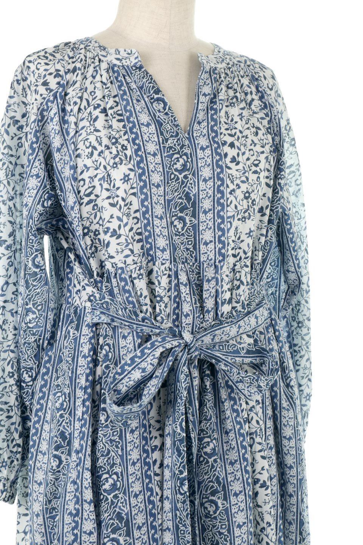 FloralPrintedPanelDress小花柄・パネルワンピース大人カジュアルに最適な海外ファッションのothers(その他インポートアイテム)のワンピースやマキシワンピース。オリエンタルな雰囲気のパネルプリントが魅力的なワンピース。インド綿ならではの柔らかで涼しげな素材感は、軽くて着心地も抜群。/main-11