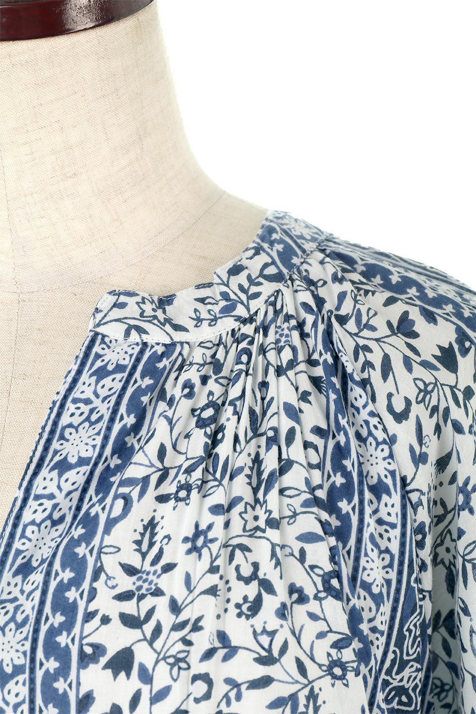 FloralPrintedPanelDress小花柄・パネルワンピース大人カジュアルに最適な海外ファッションのothers(その他インポートアイテム)のワンピースやマキシワンピース。オリエンタルな雰囲気のパネルプリントが魅力的なワンピース。インド綿ならではの柔らかで涼しげな素材感は、軽くて着心地も抜群。/main-12