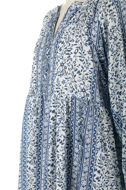 FloralPrintedPanelDress小花柄・パネルワンピース大人カジュアルに最適な海外ファッションのothers(その他インポートアイテム)のワンピースやマキシワンピース。オリエンタルな雰囲気のパネルプリントが魅力的なワンピース。インド綿ならではの柔らかで涼しげな素材感は、軽くて着心地も抜群。/main-13
