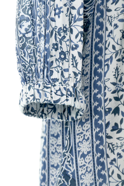 FloralPrintedPanelDress小花柄・パネルワンピース大人カジュアルに最適な海外ファッションのothers(その他インポートアイテム)のワンピースやマキシワンピース。オリエンタルな雰囲気のパネルプリントが魅力的なワンピース。インド綿ならではの柔らかで涼しげな素材感は、軽くて着心地も抜群。/main-15