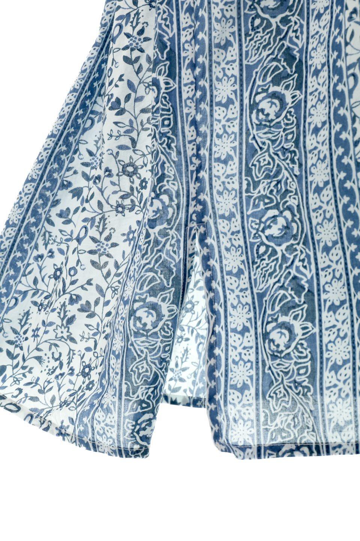 FloralPrintedPanelDress小花柄・パネルワンピース大人カジュアルに最適な海外ファッションのothers(その他インポートアイテム)のワンピースやマキシワンピース。オリエンタルな雰囲気のパネルプリントが魅力的なワンピース。インド綿ならではの柔らかで涼しげな素材感は、軽くて着心地も抜群。/main-16