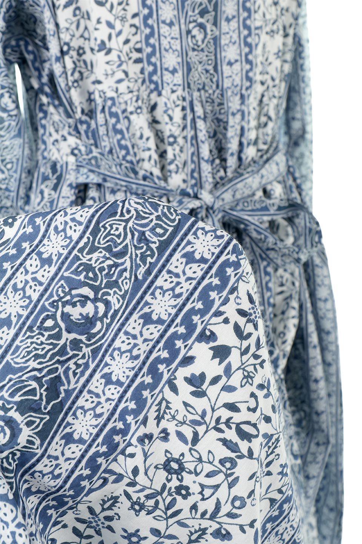 FloralPrintedPanelDress小花柄・パネルワンピース大人カジュアルに最適な海外ファッションのothers(その他インポートアイテム)のワンピースやマキシワンピース。オリエンタルな雰囲気のパネルプリントが魅力的なワンピース。インド綿ならではの柔らかで涼しげな素材感は、軽くて着心地も抜群。/main-18