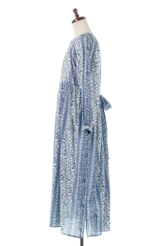 FloralPrintedPanelDress小花柄・パネルワンピース大人カジュアルに最適な海外ファッションのothers(その他インポートアイテム)のワンピースやマキシワンピース。オリエンタルな雰囲気のパネルプリントが魅力的なワンピース。インド綿ならではの柔らかで涼しげな素材感は、軽くて着心地も抜群。/main-2