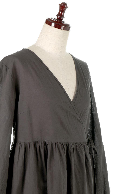 2WayCache-coeurLongDress2Way・カシュクールワンピース大人カジュアルに最適な海外ファッションのothers(その他インポートアイテム)のワンピースやマキシワンピース。2WAY仕様で着れるワンピース。着回ししやすいデザインで前を閉じて着ると女性らしいカシュクールタイプのワンピース。/main-10