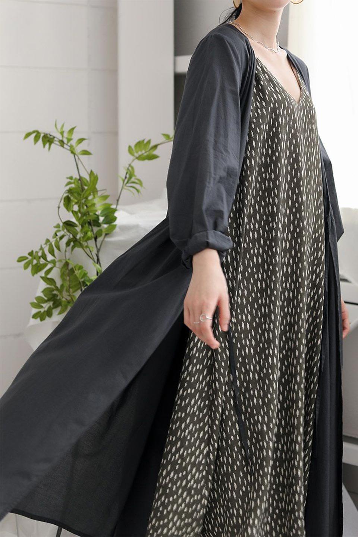 2WayCache-coeurLongDress2Way・カシュクールワンピース大人カジュアルに最適な海外ファッションのothers(その他インポートアイテム)のワンピースやマキシワンピース。2WAY仕様で着れるワンピース。着回ししやすいデザインで前を閉じて着ると女性らしいカシュクールタイプのワンピース。/main-21