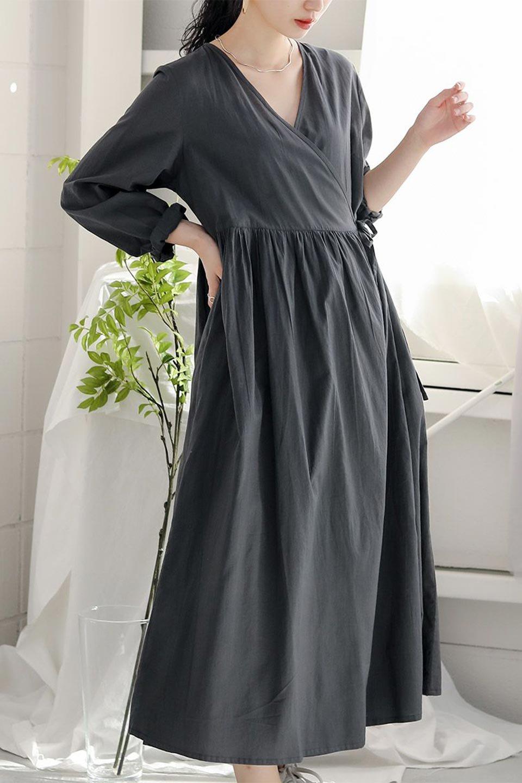 2WayCache-coeurLongDress2Way・カシュクールワンピース大人カジュアルに最適な海外ファッションのothers(その他インポートアイテム)のワンピースやマキシワンピース。2WAY仕様で着れるワンピース。着回ししやすいデザインで前を閉じて着ると女性らしいカシュクールタイプのワンピース。/main-24