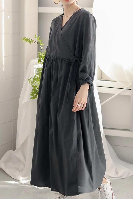 2WayCache-coeurLongDress2Way・カシュクールワンピース大人カジュアルに最適な海外ファッションのothers(その他インポートアイテム)のワンピースやマキシワンピース。2WAY仕様で着れるワンピース。着回ししやすいデザインで前を閉じて着ると女性らしいカシュクールタイプのワンピース。/main-25