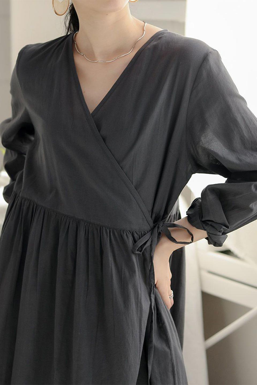 2WayCache-coeurLongDress2Way・カシュクールワンピース大人カジュアルに最適な海外ファッションのothers(その他インポートアイテム)のワンピースやマキシワンピース。2WAY仕様で着れるワンピース。着回ししやすいデザインで前を閉じて着ると女性らしいカシュクールタイプのワンピース。/main-28
