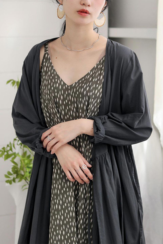 2WayCache-coeurLongDress2Way・カシュクールワンピース大人カジュアルに最適な海外ファッションのothers(その他インポートアイテム)のワンピースやマキシワンピース。2WAY仕様で着れるワンピース。着回ししやすいデザインで前を閉じて着ると女性らしいカシュクールタイプのワンピース。/main-29