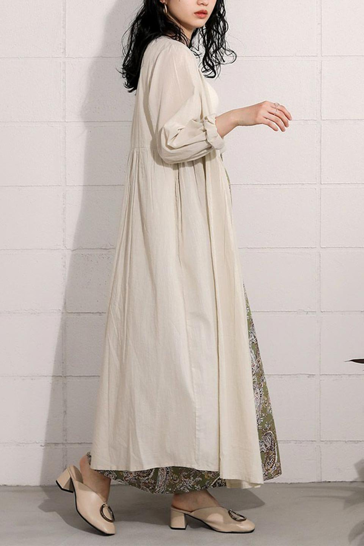 2WayCache-coeurLongDress2Way・カシュクールワンピース大人カジュアルに最適な海外ファッションのothers(その他インポートアイテム)のワンピースやマキシワンピース。2WAY仕様で着れるワンピース。着回ししやすいデザインで前を閉じて着ると女性らしいカシュクールタイプのワンピース。/main-34
