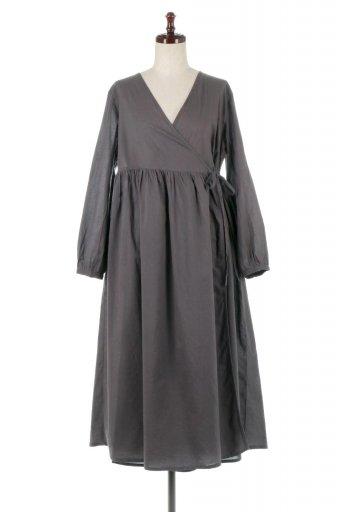 海外ファッションや大人カジュアルに最適なインポートセレクトアイテムの2 Way Cache-coeur Long Dress 2Way・カシュクールワンピース