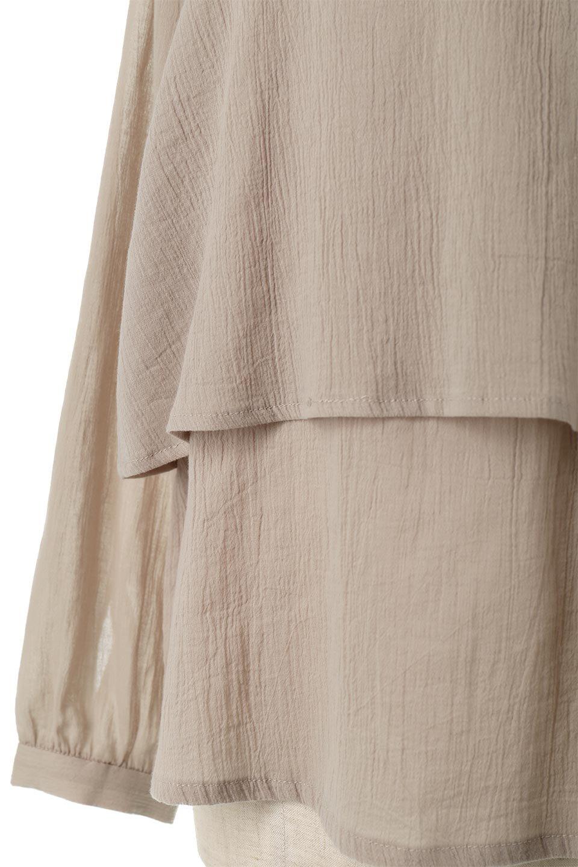 TexturedSheerCami&Blouseテクスチャード・シアーキャミブラウスセット大人カジュアルに最適な海外ファッションのothers(その他インポートアイテム)のトップスやシャツ・ブラウス。若干透け感のある長袖ブラウスと、共生地のキャミソールセット。さらりとした素材感の生地は透け感があり、これからの季節にピッタリのアイテム。/main-17