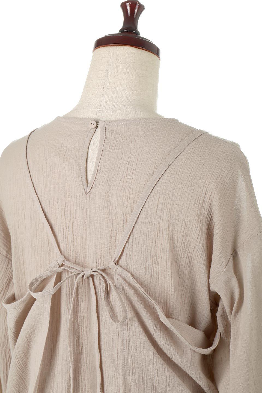 TexturedSheerCami&Blouseテクスチャード・シアーキャミブラウスセット大人カジュアルに最適な海外ファッションのothers(その他インポートアイテム)のトップスやシャツ・ブラウス。若干透け感のある長袖ブラウスと、共生地のキャミソールセット。さらりとした素材感の生地は透け感があり、これからの季節にピッタリのアイテム。/main-18
