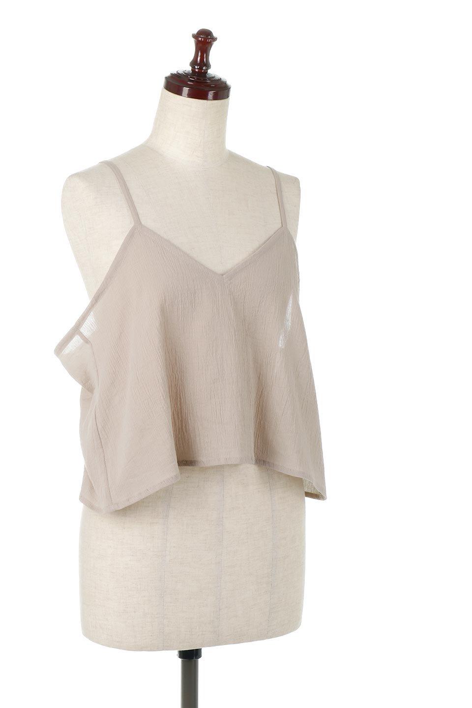 TexturedSheerCami&Blouseテクスチャード・シアーキャミブラウスセット大人カジュアルに最適な海外ファッションのothers(その他インポートアイテム)のトップスやシャツ・ブラウス。若干透け感のある長袖ブラウスと、共生地のキャミソールセット。さらりとした素材感の生地は透け感があり、これからの季節にピッタリのアイテム。/main-23