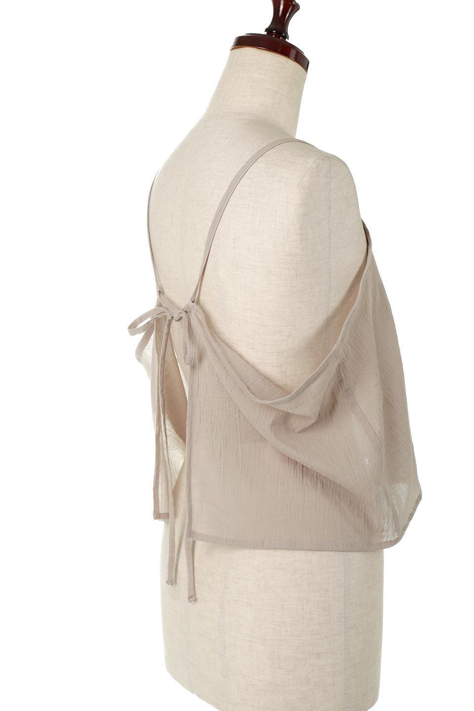 TexturedSheerCami&Blouseテクスチャード・シアーキャミブラウスセット大人カジュアルに最適な海外ファッションのothers(その他インポートアイテム)のトップスやシャツ・ブラウス。若干透け感のある長袖ブラウスと、共生地のキャミソールセット。さらりとした素材感の生地は透け感があり、これからの季節にピッタリのアイテム。/main-24