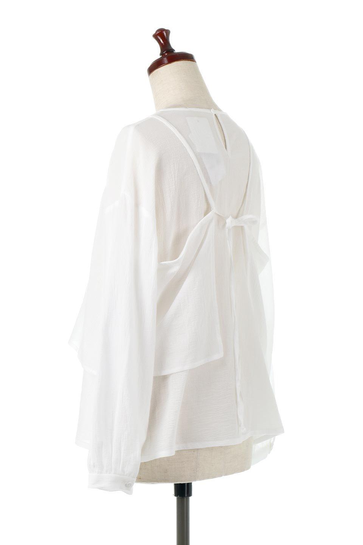 TexturedSheerCami&Blouseテクスチャード・シアーキャミブラウスセット大人カジュアルに最適な海外ファッションのothers(その他インポートアイテム)のトップスやシャツ・ブラウス。若干透け感のある長袖ブラウスと、共生地のキャミソールセット。さらりとした素材感の生地は透け感があり、これからの季節にピッタリのアイテム。/main-8