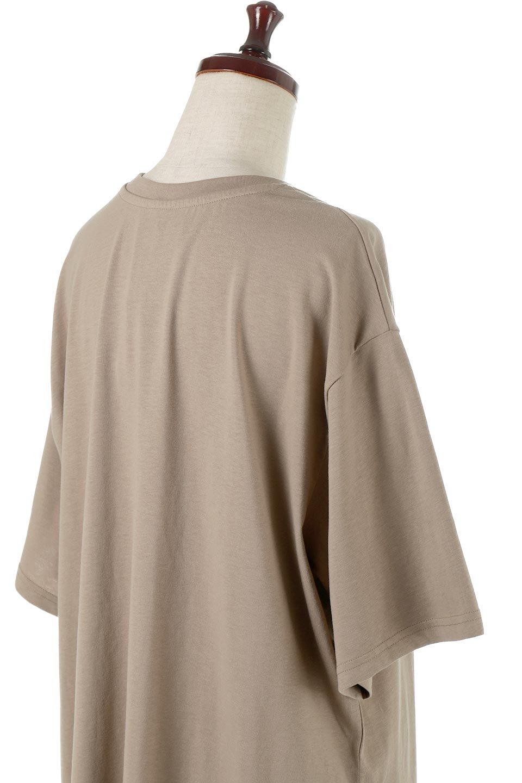 DeepSideSlitDressサイドスリット・コットンワンピース大人カジュアルに最適な海外ファッションのothers(その他インポートアイテム)のワンピースやマキシワンピース。キレイ目でもカジュアルでも楽しめるコットン素材のワンピトップス。肉厚なTシャツ素材で様々なコーディネートで活躍します。/main-16