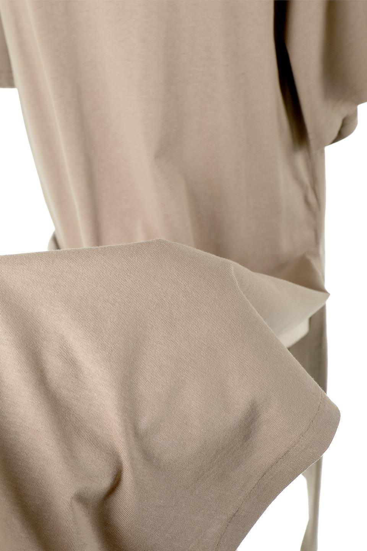 DeepSideSlitDressサイドスリット・コットンワンピース大人カジュアルに最適な海外ファッションのothers(その他インポートアイテム)のワンピースやマキシワンピース。キレイ目でもカジュアルでも楽しめるコットン素材のワンピトップス。肉厚なTシャツ素材で様々なコーディネートで活躍します。/main-21