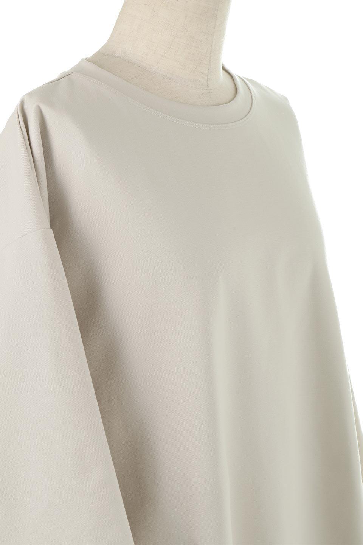 PanelCutAsymmetricalBigT-Shirtsアシメントリー・切り替えビッグTee大人カジュアルに最適な海外ファッションのothers(その他インポートアイテム)のトップスやカットソー。左右非対称なカッティングデザインがポイントのTシャツ。メンズサイズのようなオーバーシルエットが可愛いヘビーウェイトのカットソー。/main-15