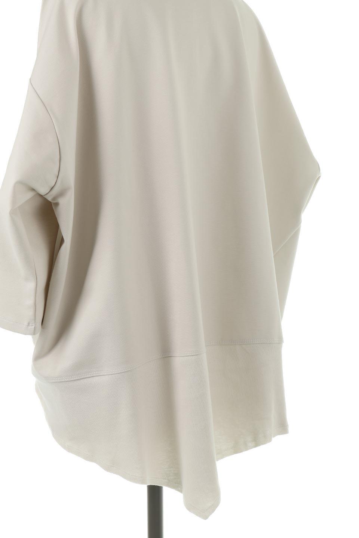 PanelCutAsymmetricalBigT-Shirtsアシメントリー・切り替えビッグTee大人カジュアルに最適な海外ファッションのothers(その他インポートアイテム)のトップスやカットソー。左右非対称なカッティングデザインがポイントのTシャツ。メンズサイズのようなオーバーシルエットが可愛いヘビーウェイトのカットソー。/main-17