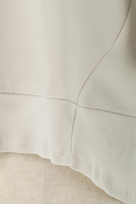 PanelCutAsymmetricalBigT-Shirtsアシメントリー・切り替えビッグTee大人カジュアルに最適な海外ファッションのothers(その他インポートアイテム)のトップスやカットソー。左右非対称なカッティングデザインがポイントのTシャツ。メンズサイズのようなオーバーシルエットが可愛いヘビーウェイトのカットソー。/main-21