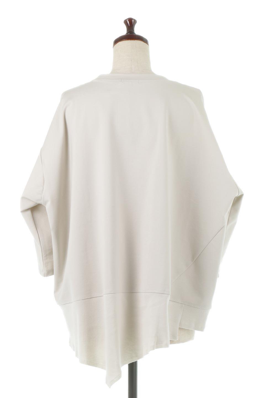 PanelCutAsymmetricalBigT-Shirtsアシメントリー・切り替えビッグTee大人カジュアルに最適な海外ファッションのothers(その他インポートアイテム)のトップスやカットソー。左右非対称なカッティングデザインがポイントのTシャツ。メンズサイズのようなオーバーシルエットが可愛いヘビーウェイトのカットソー。/main-4