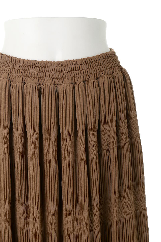 MajolicaPleatedLongSkirtマジョリカプリーツ・ロングスカート大人カジュアルに最適な海外ファッションのothers(その他インポートアイテム)のボトムやスカート。表情豊かなマジョリカプリーツが春の雰囲気満点のロングスカート。シフォンジョーゼットのソフトな生地でフワリとした優しさが人気です。/main-25