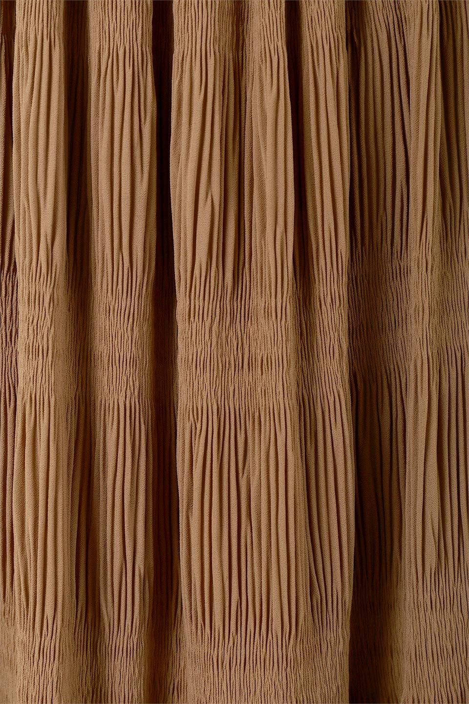 MajolicaPleatedLongSkirtマジョリカプリーツ・ロングスカート大人カジュアルに最適な海外ファッションのothers(その他インポートアイテム)のボトムやスカート。表情豊かなマジョリカプリーツが春の雰囲気満点のロングスカート。シフォンジョーゼットのソフトな生地でフワリとした優しさが人気です。/main-28
