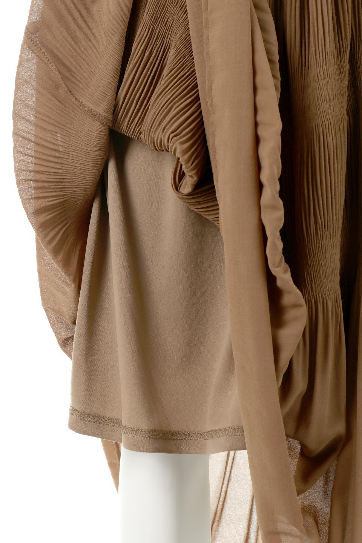 MajolicaPleatedLongSkirtマジョリカプリーツ・ロングスカート大人カジュアルに最適な海外ファッションのothers(その他インポートアイテム)のボトムやスカート。表情豊かなマジョリカプリーツが春の雰囲気満点のロングスカート。シフォンジョーゼットのソフトな生地でフワリとした優しさが人気です。/main-31