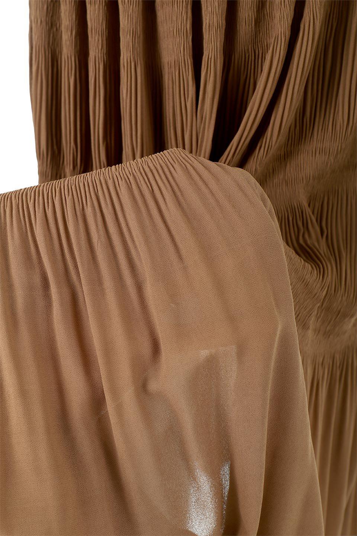 MajolicaPleatedLongSkirtマジョリカプリーツ・ロングスカート大人カジュアルに最適な海外ファッションのothers(その他インポートアイテム)のボトムやスカート。表情豊かなマジョリカプリーツが春の雰囲気満点のロングスカート。シフォンジョーゼットのソフトな生地でフワリとした優しさが人気です。/main-32